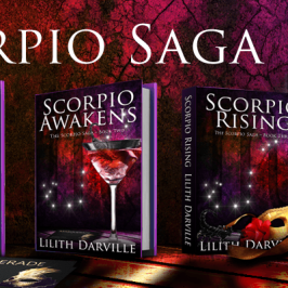 The Scorpio Saga by Lilith Darville – Coming Soon to Luminosity